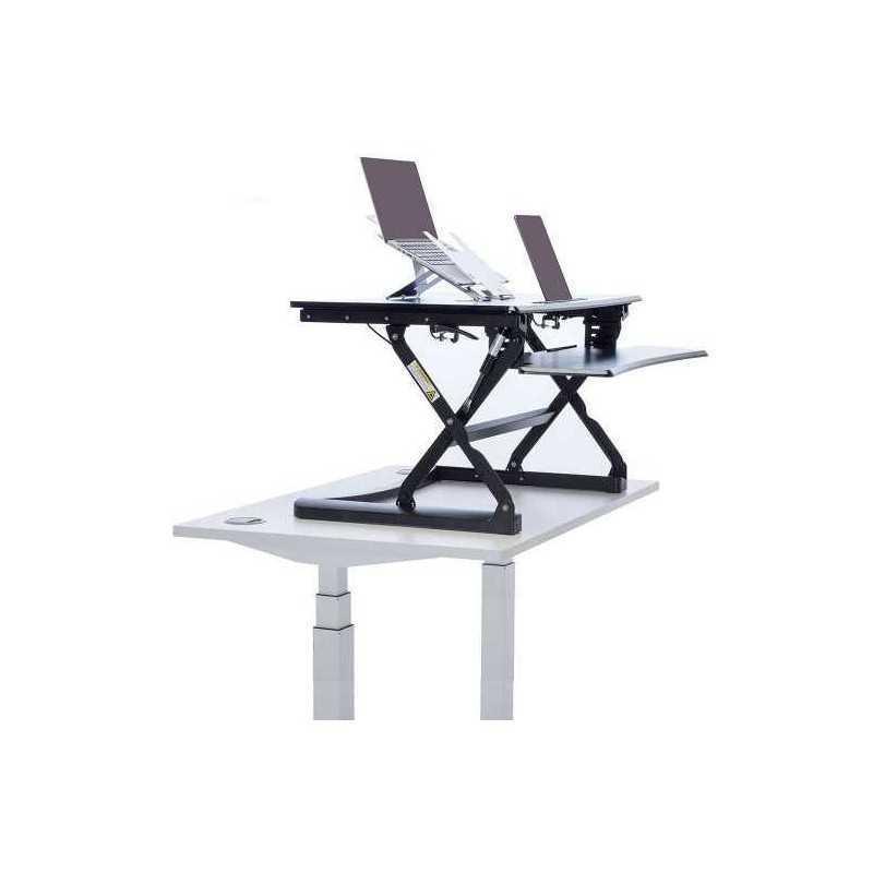 Poste de travail assis debout l e vate for Chaise debout assis