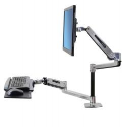 Support assis-debout pour bureau WorkFit-LX