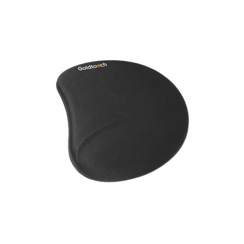 Tapis de souris ergonomique en gel noir