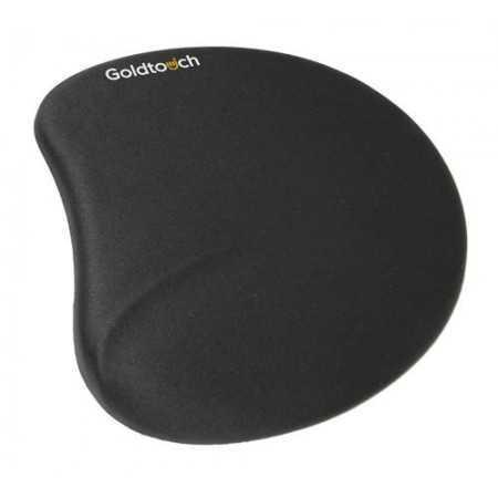 Tapis de souris ergonomique en gel noir RB8