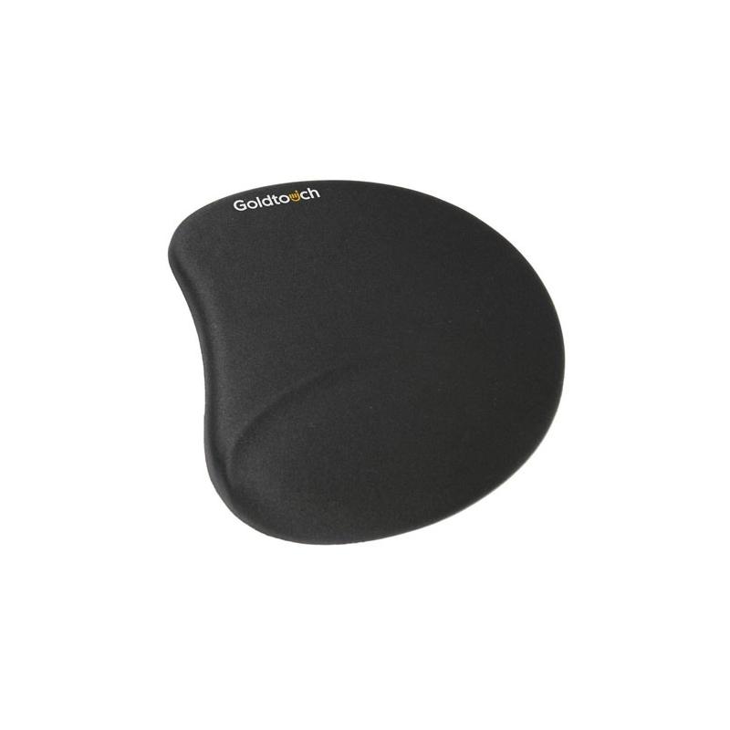 tapis de souris ergonomique en gel noir. Black Bedroom Furniture Sets. Home Design Ideas
