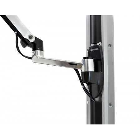 LX Wall Mount LCD Monitor Arm 45-243-026 Supports
