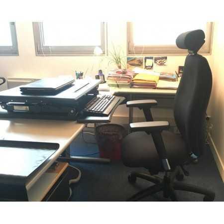 Station de travail assis debout L-E-VATE L-E-VATE Stations de travail