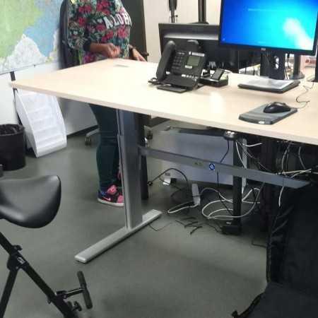 Bureau assis/debout PRO 250 M 150M Bureaux électriques