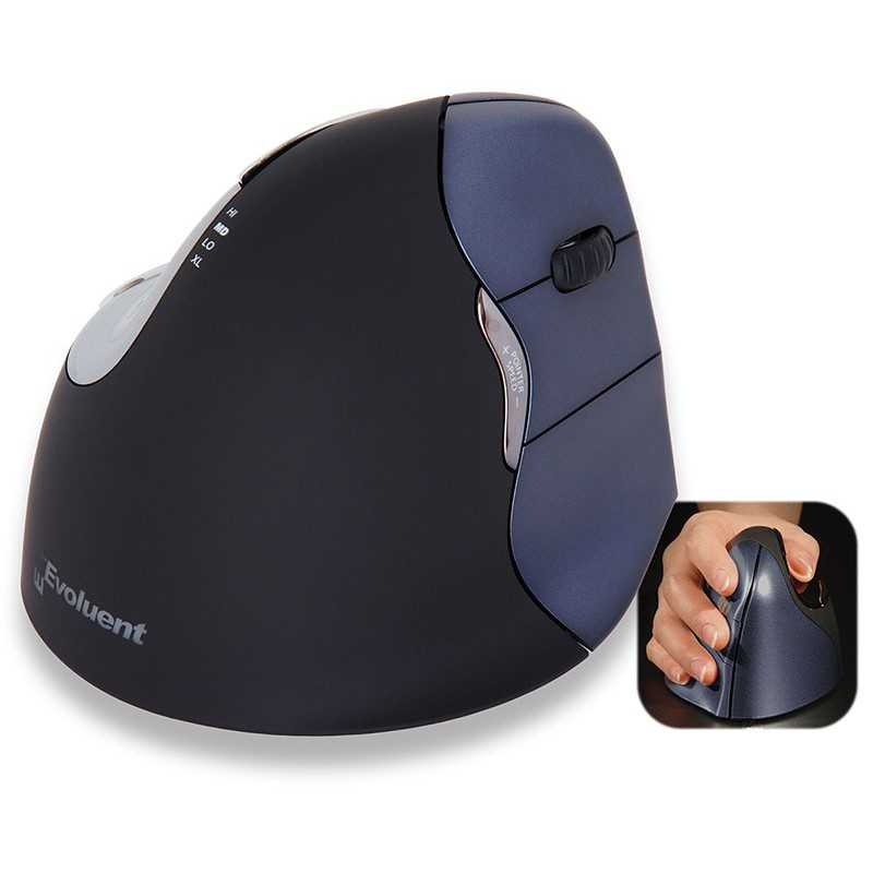 Evoluent Version 4 Mouse SEDSFL Souris ergonomiques