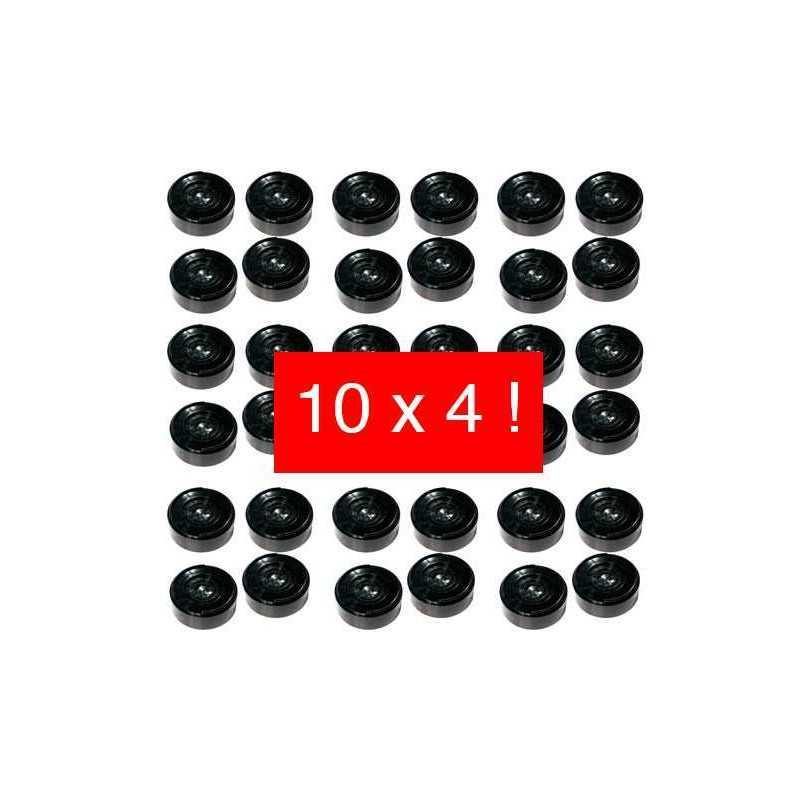 Rehausseurs de bureau pack de 10 x 4 dr1x10