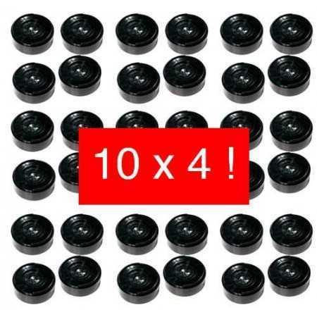 Rehausseurs de bureau pack de 10 x 4 dr1x10 Réhausseur de bureau