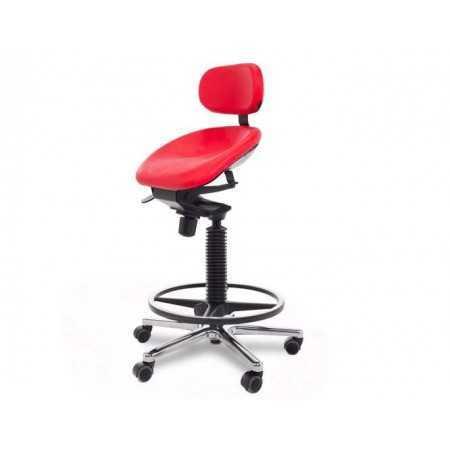 Swing siege ergonomique semi-sitting 2SS-DB-A1-BP-R1-RTL