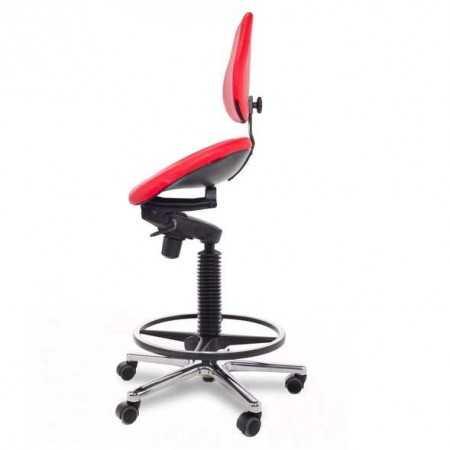 Swing siege ergonomique semi-sitting 2SS-DA-A1-BP-R1-RTL