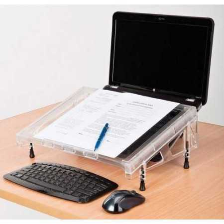 support Porte document ergonomique Microdesk Compact