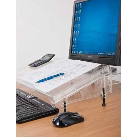 support Porte document ergonomique Microdesk Standard
