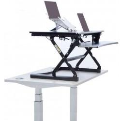Plateforme assis/debout pour bureau classique