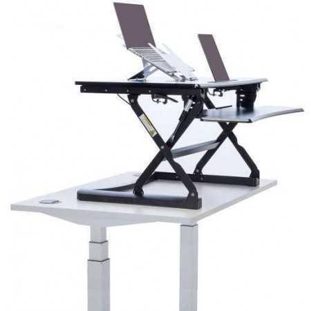 Station de travail assis debout L-E-VATE L-E-VATE