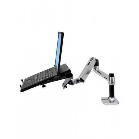 Bras d'écran avec support ordinateur portable Ergotron BE9 Supports bras pour écran