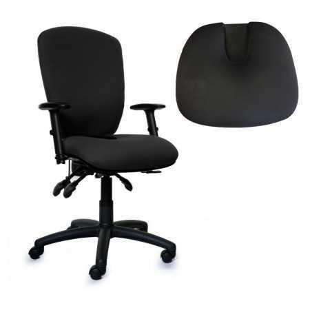 Siège ergonomique assise soulage douleur Coccyx