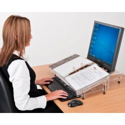 Porte document ergonomique Microdesk Standard